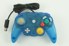 Hori Nintendo Gamecube HORI PAD CUBE Clear Blue Controller GC From Japan