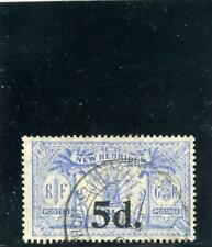 New Hebrides (Br) 1924  Scott# 39 Canceled