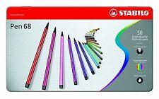 STABILO Pen 68 Fasermaler - 50-teilig
