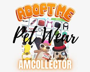 Adopt Me Rare Pet Wear SALE! (read desc)