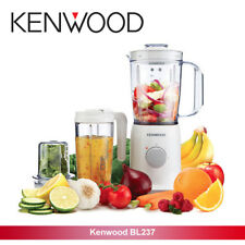 EX Kenwood BL237 True 1L 350W Blender with Multi Mill & Smoothie 2 Go White
