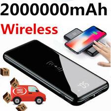 2020 Hot 2000000mAh Wireless Power Bank High Capacity Backup Fast Charger