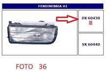 60430 FARO FENDINEBBIA (FOG LAMPS) DX BMW S.3 E36 BERLINA-TOURING 09/90->10/99