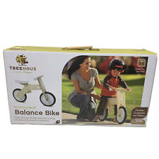 Treehaus Kids Wooden Balance Bike Push And Go Ages 3 To 6 UNISEX - NEW Open Box