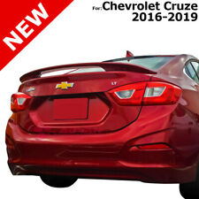 For Chevrolet Cruze 16 19 Silver Ice Metallic Wa636r Painted Rear Trunk Spoiler Fits Cruze