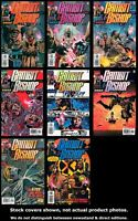 Gambit and Bishop 1-6 + Alpha & Genesis Marvel 2001 Complete Set VF/NM