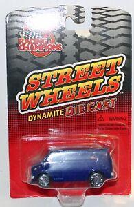 Racing champions Chevy custom van  in metallic Blue USA Only RARE