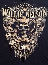 Willie Nelson Shirt Xl Johnny Cash Grateful Dead Bob Dylan Neil Young David Coe