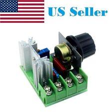 220V/110V 2000W Speed Controller SCR Voltage Regulator Dimming Dimmers