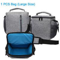 Waterproof DSLR Camera Shoulder Bag Messenger Padded Case For Nikon Sony Canon