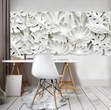 VLIES Fototapeten Fototapete Tapete Blumen Kunst 3D Weiss Blume Foto 3FX10052VEP