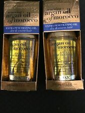 Ogx Renewing Argan Oil Of Morocco Extra Penetrating Oil 3.3 Fl Oz. 2 pack =