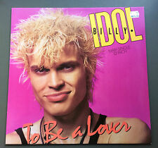 "BILLY IDOL - To Be A Lover 12"" Vinyl Record Near MINT 1986 German Pressing Rare"