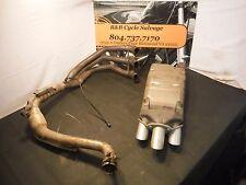 2007 07 Triumph Sprint ST 1050 ABS Full Stock Exhaust Muffler Header