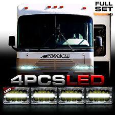 AIRSTREAM PINNACLE 4x LED HEADLIGHTS UPGRADE HEAD LIGHTS LAMPS Motorhome RV