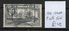 GIBRALTAR  @ 1938  S.G 124ab     @ Gib.38