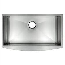 "30"" x 18"" x 9"" Single Bowl Apron Farmhouse Handmade Stainless Steel Kitchen Sink"