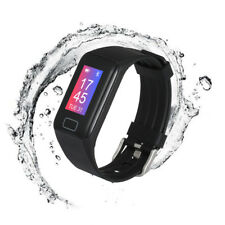 Bluetooth Smart Armband Sport Fitness Uhr Schrittzähler Fernkamera Pulsuhr IP67