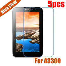 """5x Ultra Clear LCD Screen Protector Guard Film For Lenovo Tablet 7"""" A7-30 A3300"""