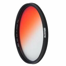 Zomei Gradient orange Filter Ultra Slim Gradual Color Filter GC-Orange 40.5-82mm