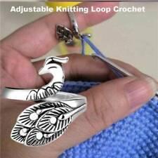 Adjustable Knitting Loop Crochet Loop Knitting Accessorie Advanced Ring