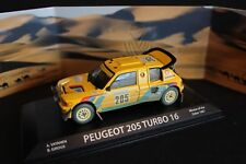 Norev Peugeot 205 Turbo 16 1987 1:43 #205 Vatanen / Giroux 1st Dakar Rally