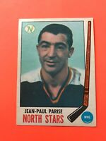 Jean-Paul Parise 1969-70 O-Pee-Chee OPC Hockey Card #1  See Photos for Condition
