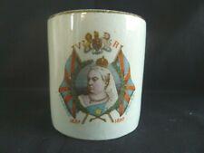 Very Nice Queen Victoria Diamond Jubilee Mug 1897 Royalty
