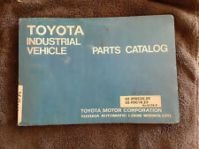 Toyota Forklift Parts Catalog Industrial Vehicle N238-02-2FDC25