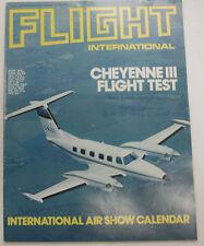 Flight International Magazine Cheyenne III Flight Test April 1982 FAL 060915R2
