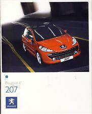 Peugeot 207 03 / 2008 catalogue brochure polonais