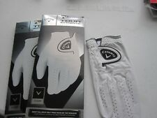 2 NEW CALLAWAY RIGHT TOUR AUTHENTIC GOLF GLOVES SIZE LARGE MENS