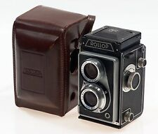 ROLLOP TLR CAMERA ENNAGON 1:3.5 f=75mm LENS CASED NR