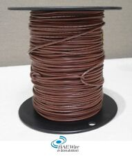 18 AWG UL1015 MACHINE TOOL WIRE - BROWN - 500 FEET