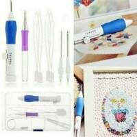 Embroidery Needle Punch Set Pen Tool Magic DIY Craft Stitching Sewing Craft
