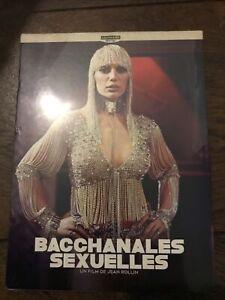 Bacchanales Sexuelles Blu Ray 4k UHD Jean Rollin Le Chat Qui Fume