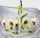 FLOWER BOUQUET STYLE SIX LIGHT TOLE CHANDELIER