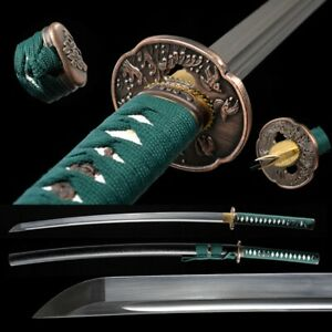 Carbon Steel Blade Sharp Japanese Samurai Sword Nihontou Katana Battle ready#939
