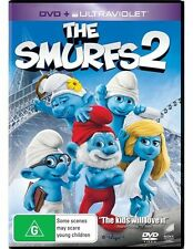 The Smurfs 2 (DVD, 2014) regions 2,4,5