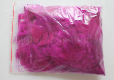 """10g (0.35Oz) Purple Plum 3~4"""" Turkey Plumage Feathers for crafting, 80~120counts"""