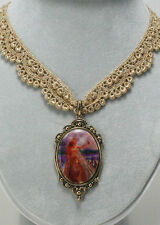 Pendant - Nene Thomas Fairysite Innocence Fairy Lace Choker Necklace with
