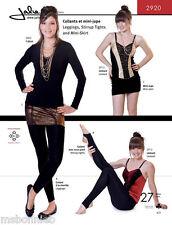 Jalie 2920 Leggings, Stirrup Tights & Mini-Skirt - Women & Girls Sewing Pattern