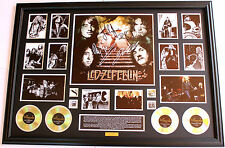 New Led Zeppelin Signed Oversized Limited Edition Memorabilia