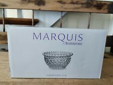 "*NEW* Marquis by Waterford Wedge Cut 10"" Pineapple Crystal Bowl - RARE"