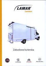 Peugeot Boxer Lambox 2015 catalogue brochure rare fourgon postal