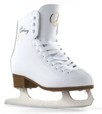 New SFR Galaxy Junior/Kids/Adult White Figure Ice Skates - Size UK10J to Adult 9