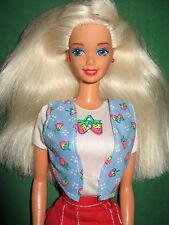 B310-vieja vintage shopping Fun barbie #15756 mattel 1996 originakl-ropa Top