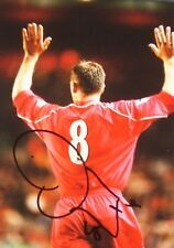 Erik Meijer signed photo Liverpool 6x4