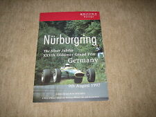 Brooks Auction Nürburgring Ferrari Jaguar Lancia Mercedes Prospekt Brochure 1997