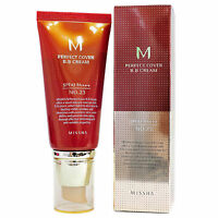 Missha BB Cream NO.23 Perfect Cover Foundation Anti Wrinkle&Blemishes Healing